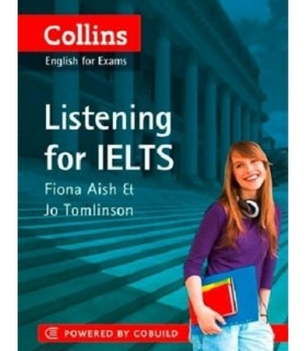 کتاب Collins english for exams Listening for Ielts+CD