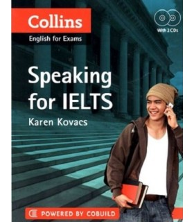 کتاب Collins english for exams Speaking for Ielts+CD