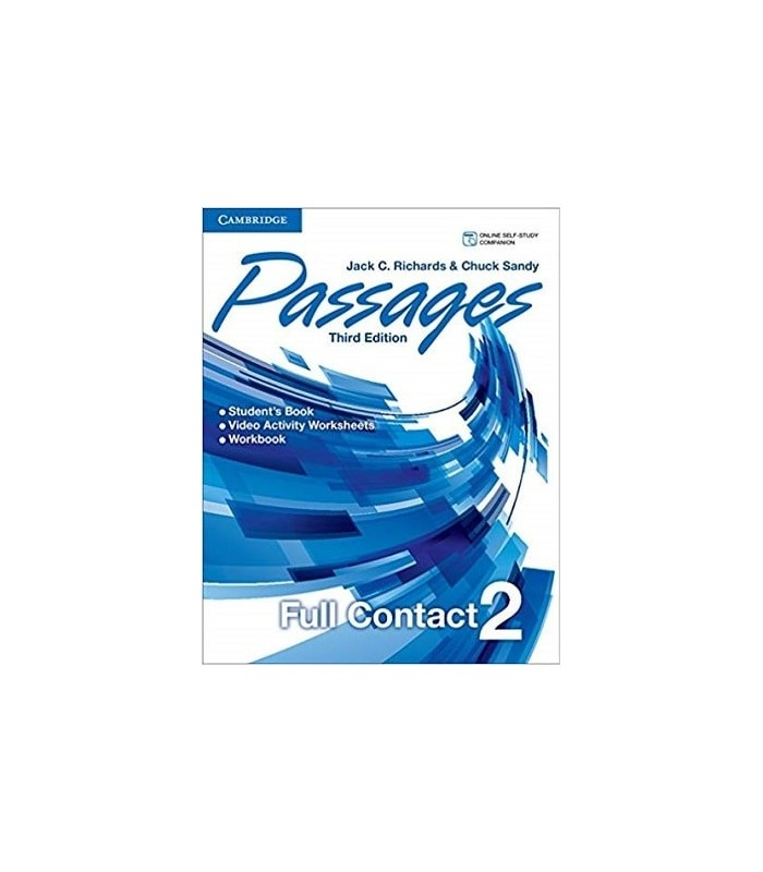 کتاب Passages Level 2 video activities 3rd edition