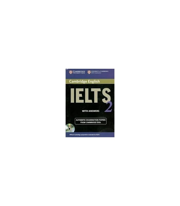خرید کتاب IELTS Cambridge 2+CD