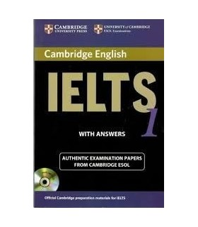 کتاب IELTS Cambridge 1+CD