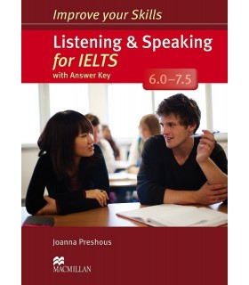 کتاب Improve Your Skills Listening and speaking for IELTS 6.0-7.5