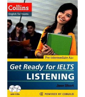 کتاب Get Ready for IELTS Listening Pre-Intermediate+CD
