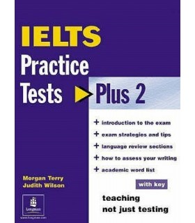 کتاب IELTS Practice Tests Plus 2 + CD