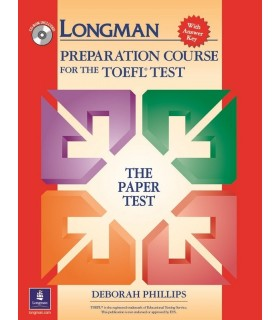 Longman Complete Course for the TOEFL Test Paper Test cbt,pbt