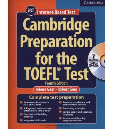 Cambridge Preparation for the TOEFL Test( IBT) 4th Edition