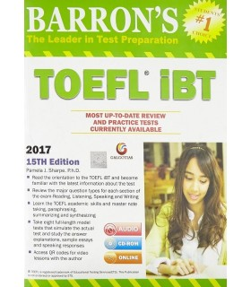 Barrons TOEFL iBT, 15th Edition
