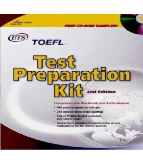 کتاب TOEFL Test Preparation Kit