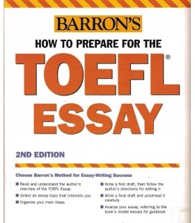 کتاب How to Prepare for the TOEFL Essay Barrons new  Edition