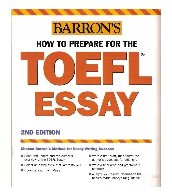خرید کتاب How to Prepare for the TOEFL Essay Barrons new  Edition