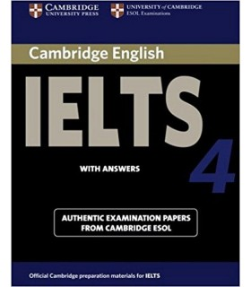 خرید کتاب IELTS Cambridge 4+CD